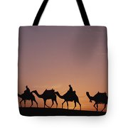 Modern Egyptians Riding Domesticated Tote Bag by Gerry Ellis