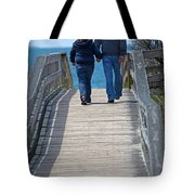 Moments With Dad Tote Bag by Karol  Livote