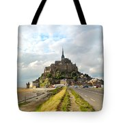 Mont Saint Michel Tote Bag by Elena Elisseeva