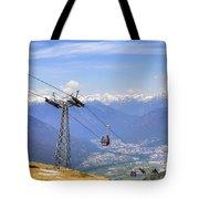 Monte Tamaro - Switzerland Tote Bag by Joana Kruse
