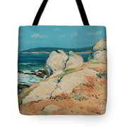Monterey Coast Tote Bag by Guy Rose