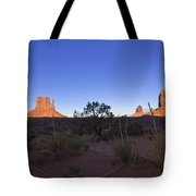Monument Valley Tote Bag by Mike Herdering