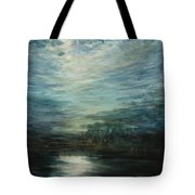 Moon Shimmer Tote Bag by Estephy Sabin Figueroa
