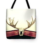 Moose Trophy Tote Bag by Priska Wettstein