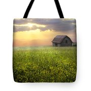 Morning Has Broken Tote Bag by Debra and Dave Vanderlaan
