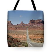 Morning In Monument Valley Tote Bag by Sandra Bronstein