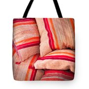 Moroccan Cushions Tote Bag by Tom Gowanlock