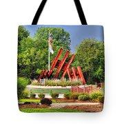 Morris Plains September 11th Memorial Tote Bag by Nick Zelinsky