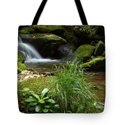 Moss And Water And Ambience Tote Bag by Andrew McInnes