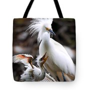 Mother And Child Tote Bag by Kenneth Albin
