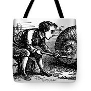 Mother Goose: Snail Tote Bag by Granger