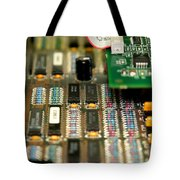Motherboard Tote Bag by Henrik Lehnerer