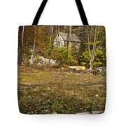 Mountain Cabin Tote Bag by John Greim