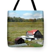 Mountain Farm Tote Bag by John Turner