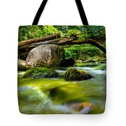 Mountain Stream Tote Bag by Christopher Holmes