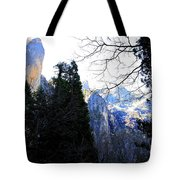 Mountains of Yosemite . 7D6213 Tote Bag by Wingsdomain Art and Photography
