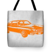 Muscle Car Tote Bag by Naxart Studio