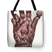 Mythological Hand Tote Bag by Photo Researchers