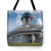 Nasa Air Traffic Control Tower Tote Bag by NASA
