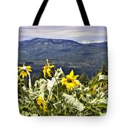 Nature Dance Tote Bag by Janie Johnson