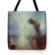 Neapolitan Fisher-girls Surprised Bathing By Moonlight Tote Bag by Joseph Mallord William Turner