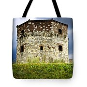 Nebojsa Tower In Belgrade Tote Bag by Elena Elisseeva