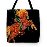 Neon Cowboy Las Vegas Tote Bag by Garry Gay