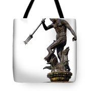 Neptune God Of The Sea Tote Bag by Artur Bogacki