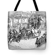 New York: Coaching, 1876 Tote Bag by Granger