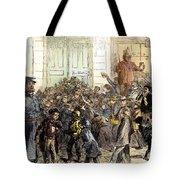 New York Street Scene Tote Bag by Granger