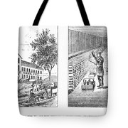 New York: Winery, 1878 Tote Bag by Granger