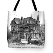 Newport Cottage Tote Bag by Granger