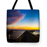 Night Approaches Tote Bag by Shannon Harrington