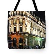 Night Paris Tote Bag by Elena Elisseeva