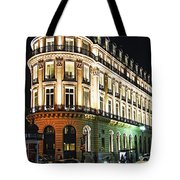 Night Paris Tote Bag by Elena Elisseeva
