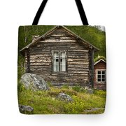 Norwegian Timber House Tote Bag by Heiko Koehrer-Wagner