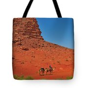Nubian Camel Rider Tote Bag by Tony Beck