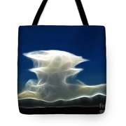 Nuclear Clouds Tote Bag by Methune Hively