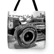 Number 16 Indy Tote Bag by Lauri Novak
