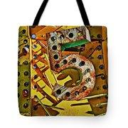 Number Five Tote Bag by Garry Gay