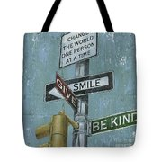 Nyc Inspiration 1 Tote Bag by Debbie DeWitt