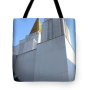 Oakland California Temple . The Church Of Jesus Christ Of Latter-day Saints . 7d11336 Tote Bag by Wingsdomain Art and Photography