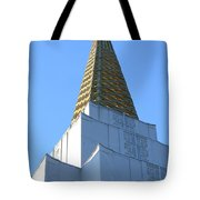 Oakland California Temple . The Church of Jesus Christ of Latter-Day Saints . 7D11358 Tote Bag by Wingsdomain Art and Photography