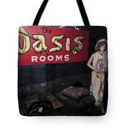 Oasis Bordello Basement - Wallace Idaho Tote Bag by Daniel Hagerman