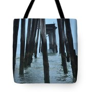 Ocean City 59th Street Pier Tote Bag by Bill Cannon