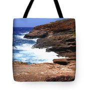Oceans Beauty Tote Bag by Cheryl Young