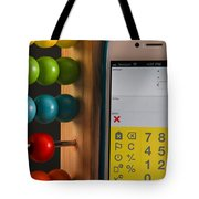 Old & New Ways Of Math Tote Bag by Photo Researchers, Inc.
