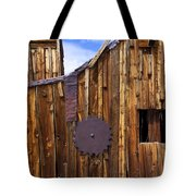 Old Building Bodie Ghost Town Tote Bag by Garry Gay