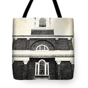 Old Church In Boston Tote Bag by Elena Elisseeva
