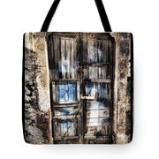 Old Door Tote Bag by Mauro Celotti